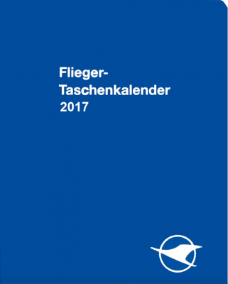 Fliegertaschenkalender 2017
