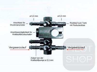 Kraftstoffverteiler PRO VAR3