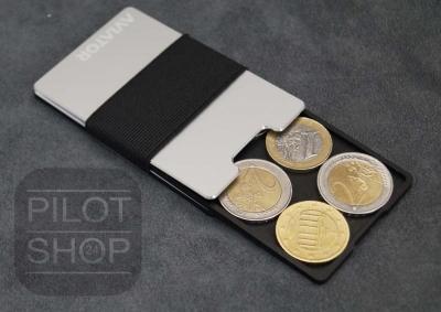 Aviator Kleingeldfach für Geldkartenhalter