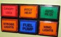 Kontrolllampe JET orange