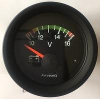 Voltmeter mit Farbmarkierungen, 52 mm