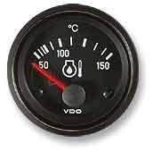 Öltemperaturanzeige VDO 52 mm