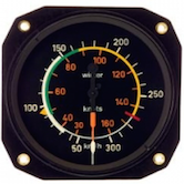 WINTER Fahrtmesser mit Form-One (EASA zertifiziert)