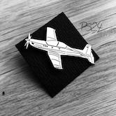 Flugzeug-Pin