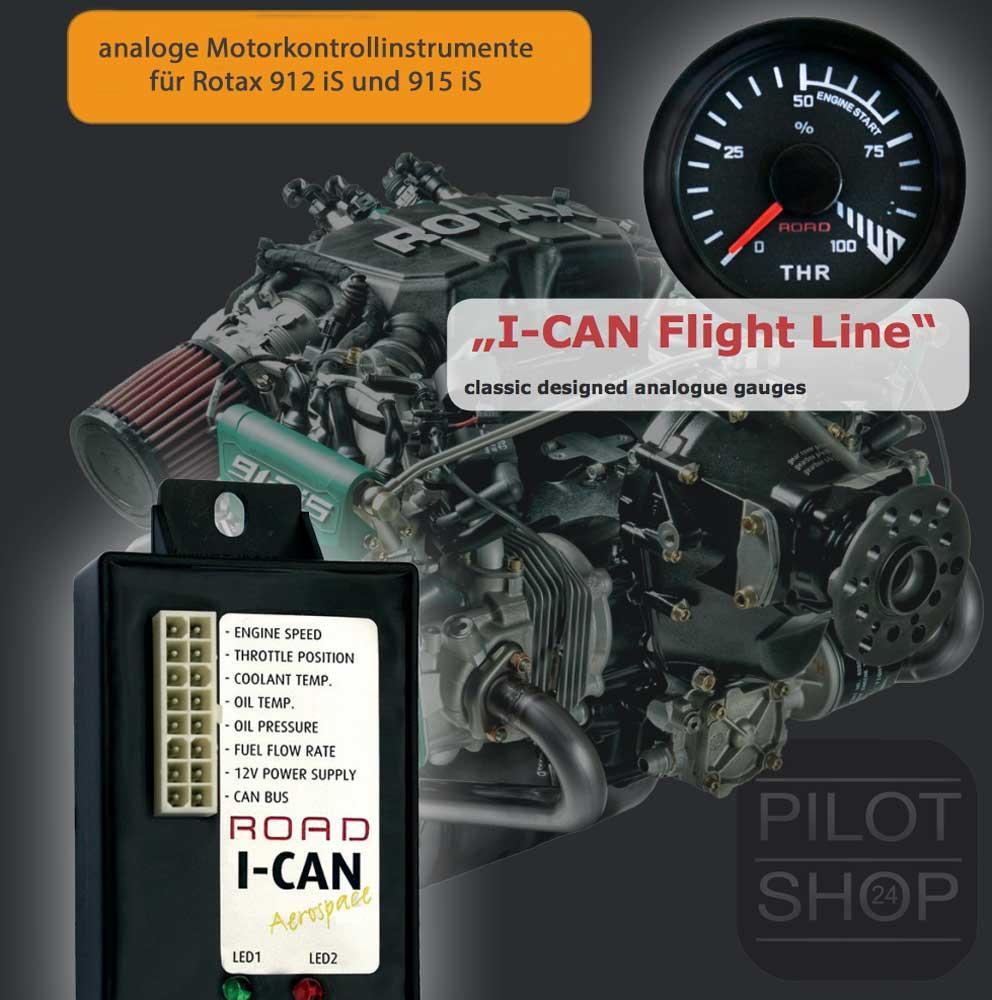 Rotax 912is flight line