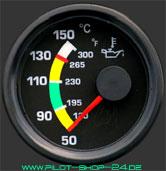 Öltemperaturanzeige