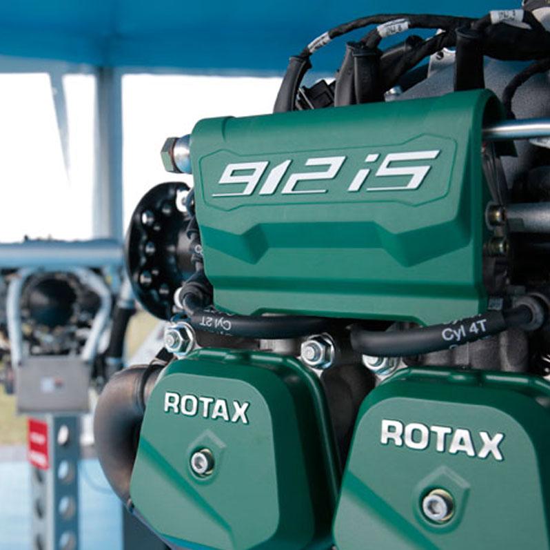 Wartung Rotax 912 iS (100 PS)  - EINSPRITZMOTOR -
