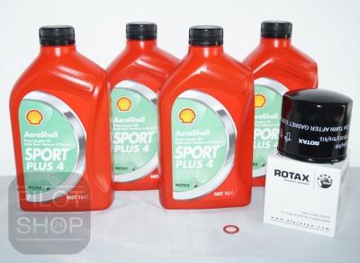 Ölwechselpaket für Rotax 912 AEROSHELL