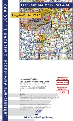 ICAO Karte FRANKFURT 2021