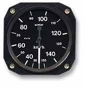 Fahrtmesser 150 km/h Winter (57 mm)