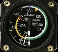 Fahrtmesser 7 FMS 510 ° (57 mm)