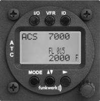 TRT 800 Doppelksitzerbedienteil LCD-Display
