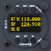 Doppelsitzerbedienteil ATR 833 OLED