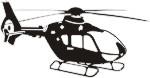 Eurocopter EC 135  schwarz