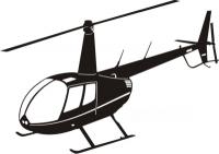 Robinson R44 schwarz