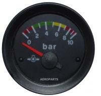 Öldruckanzeige 52 mit Farbmarkierungen für Rotax