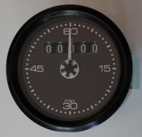Betriebsstundenzähler mit Minutenanzeige