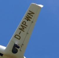 Flugzeugkennzeichen für Tragfläche 50 cm