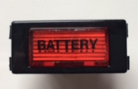 Kontrolllampe rot 12 Volt BATTERY