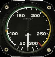 Fahrtmesser 300 km/h Winter