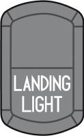 Schalter LANDING LIGHT