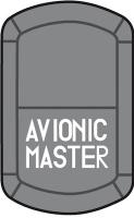 Schalter AVIONIK MASTER