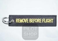 Schlüsselanhänger REMOVE BEFORE FLIGHT Black Edition