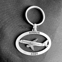 Schlüsselanhänger Airbus A320