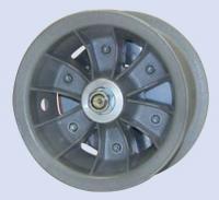 6 Hauptfahrwerksfelge mit Bremse und Achse ECO POWER