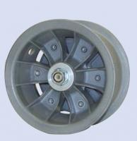 6 Hauptfahrwerksfelge mit Bremse und Achse ECO Standard