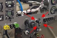 Bowdenzug 2 Zug-Version Choke für Doppelvergaser mit LOCK