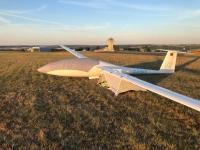 Tragflächenzelt Segelflugzeug