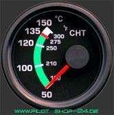 Wassertemperaturanzeige / CHT Rotax
